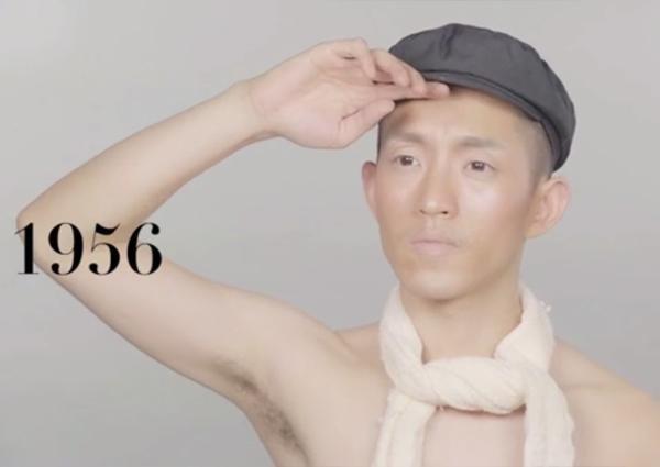 中国男人百年发型变迁史图片