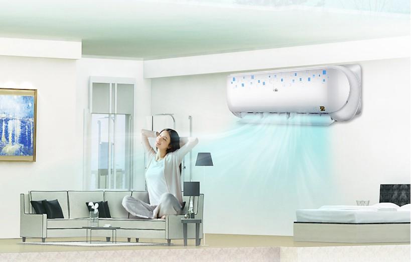 变频空调智能恒温 让家人舒适度夏