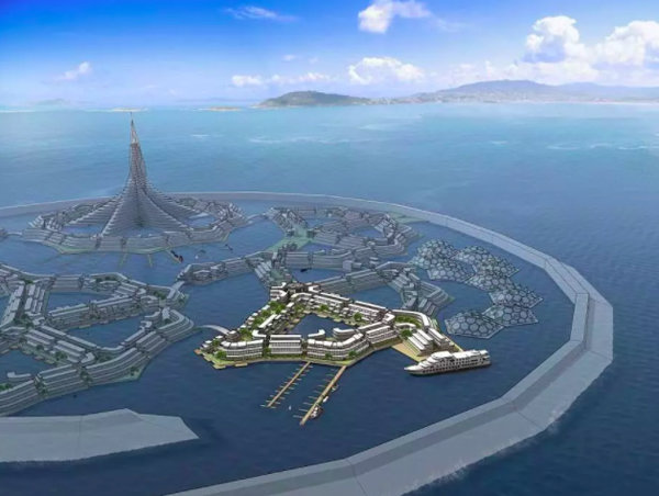 世界上第一座漂浮城市将于2020年问世,堪称海洋版的天空之城