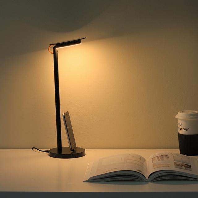 台灯创意led多功能时钟显示护眼桌面图片